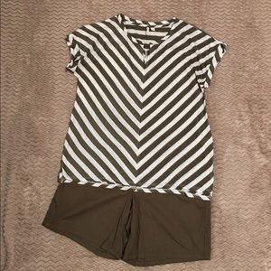 NWOT Shirt/Shorts Outfit Sz Lg/12